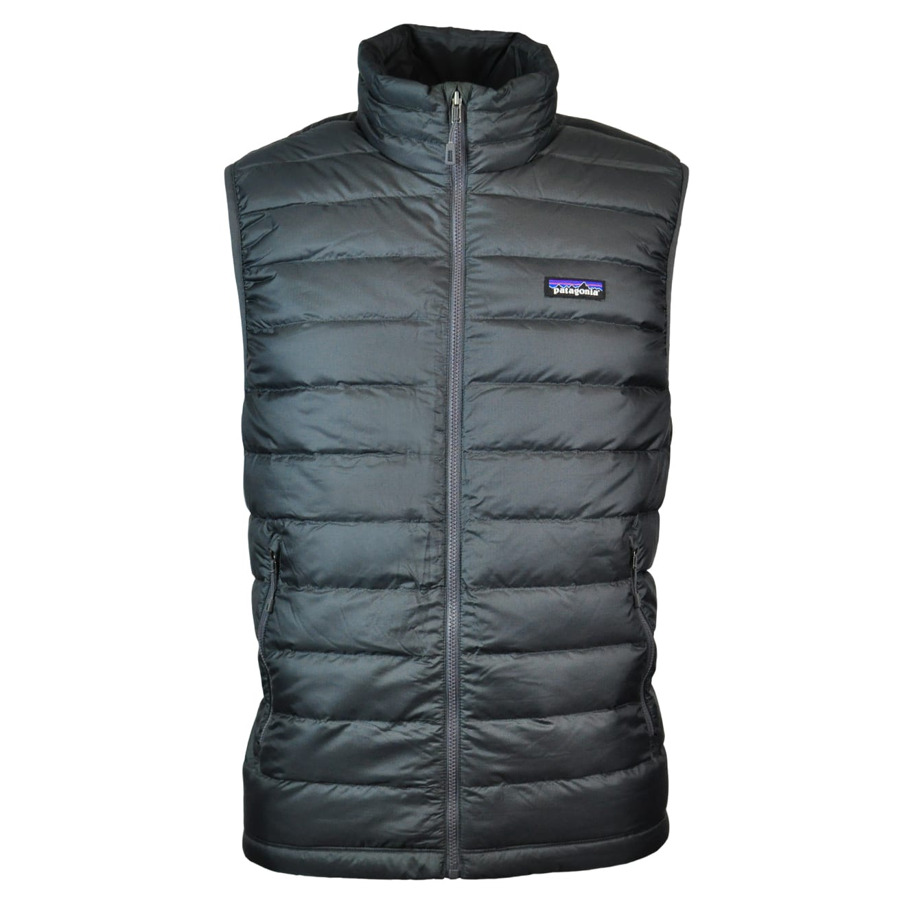 Patagonia Mens Down Sweater Vest Forge Grey