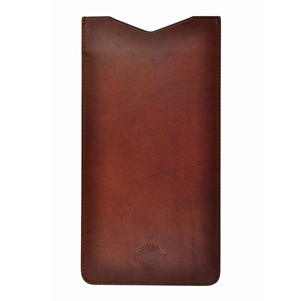 James Purdey Oak Bark Leather Shotgun Licence Holder