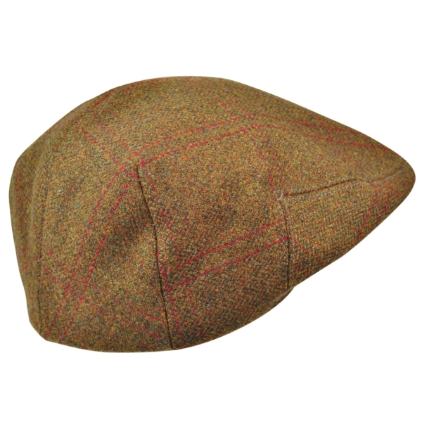 James Purdey Short Peak Tweed Waterproof Cap Audley