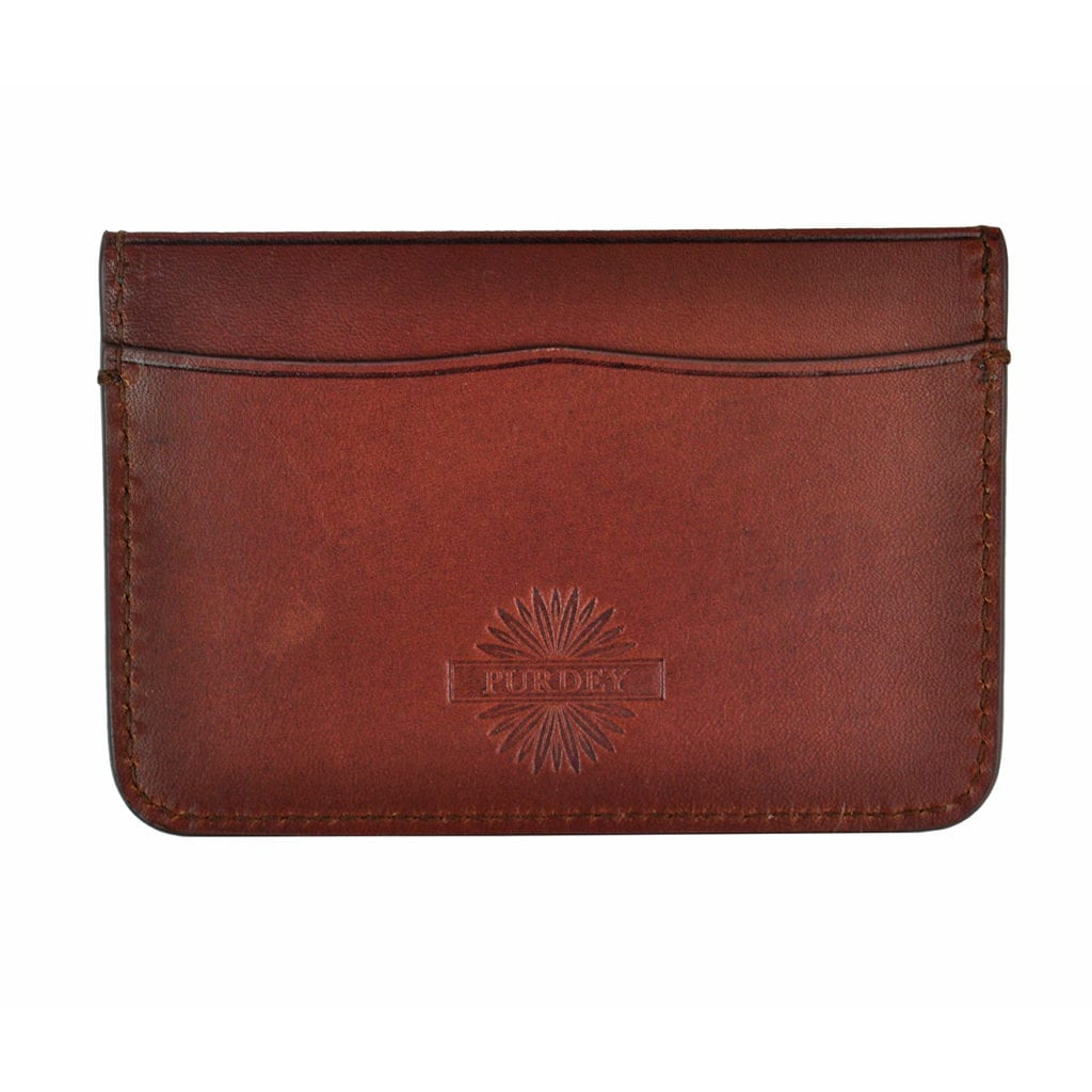 James Purdey Leather Credit Card Holder