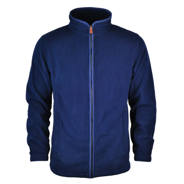 James Purdey Lightweight Fleece Jacket Navy