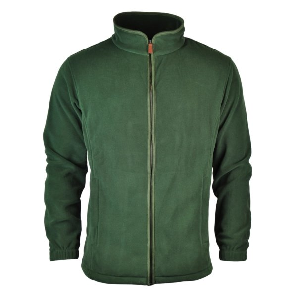 James Purdey Lightweight Fleece Jacket Green