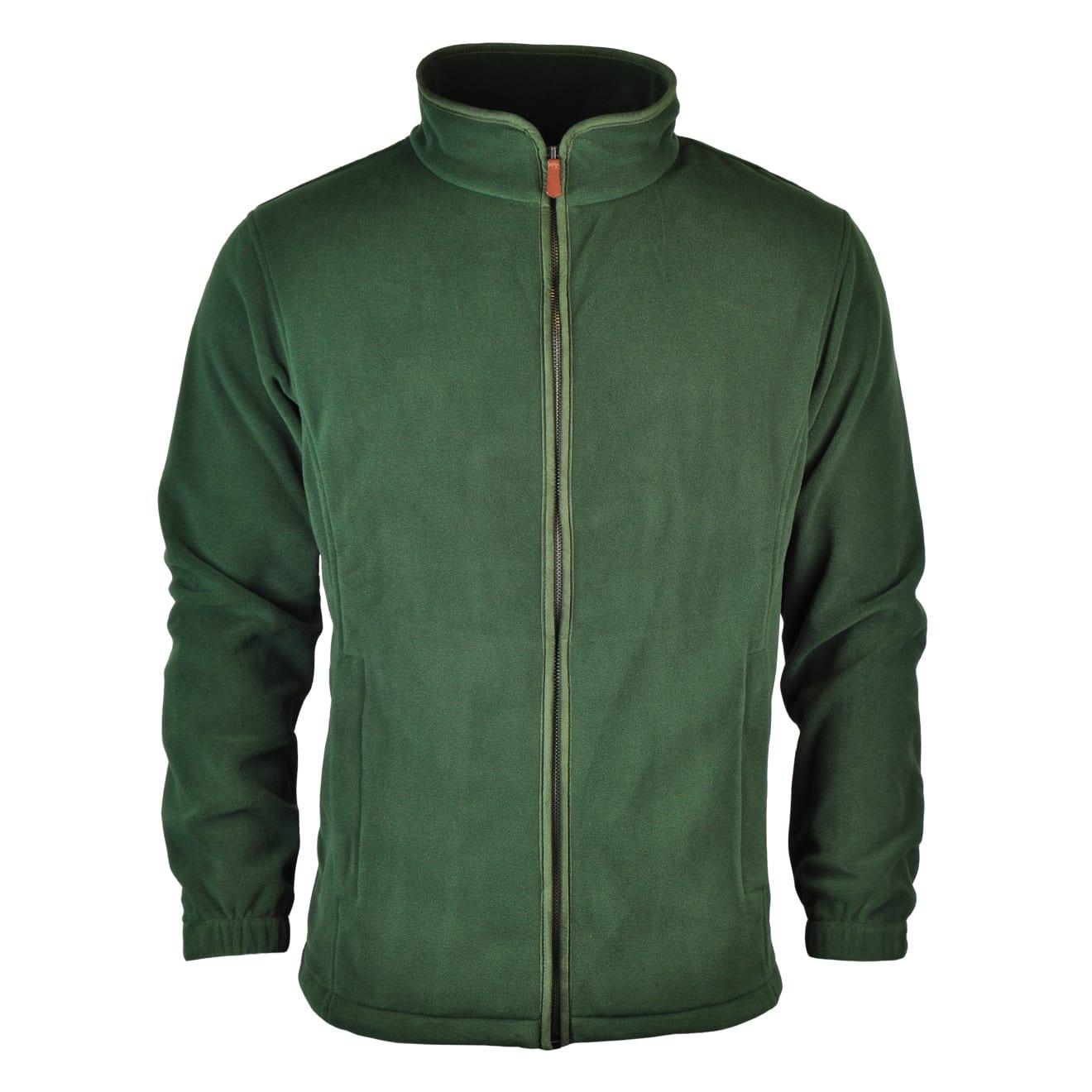 James Purdey Lightweight Fleece Jacket Green