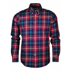 Barbour Seth Tailored Shirt Ruby