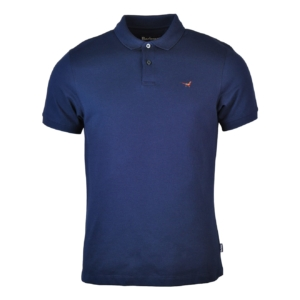 Barbour Warkworth Polo Navy