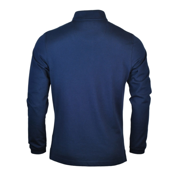 Barbour Long Sleeve Sports Polo Navy