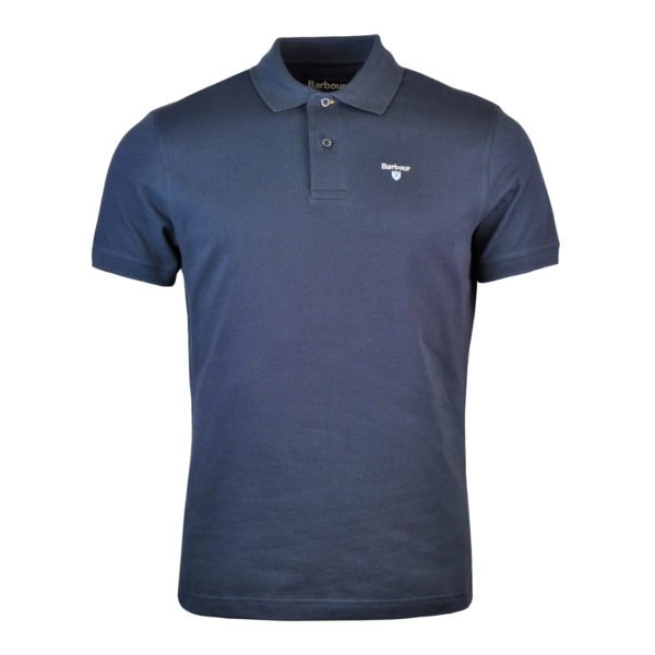Barbour Sports Polo Navy