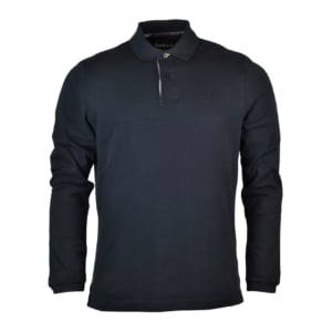 Barbour Long Sleeve Sports Polo Black