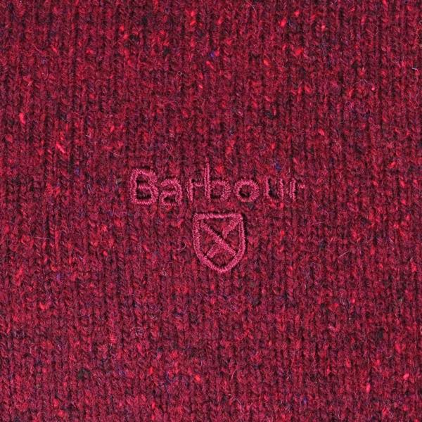 Barbour Tisbury Crew Neck Sweater Ruby