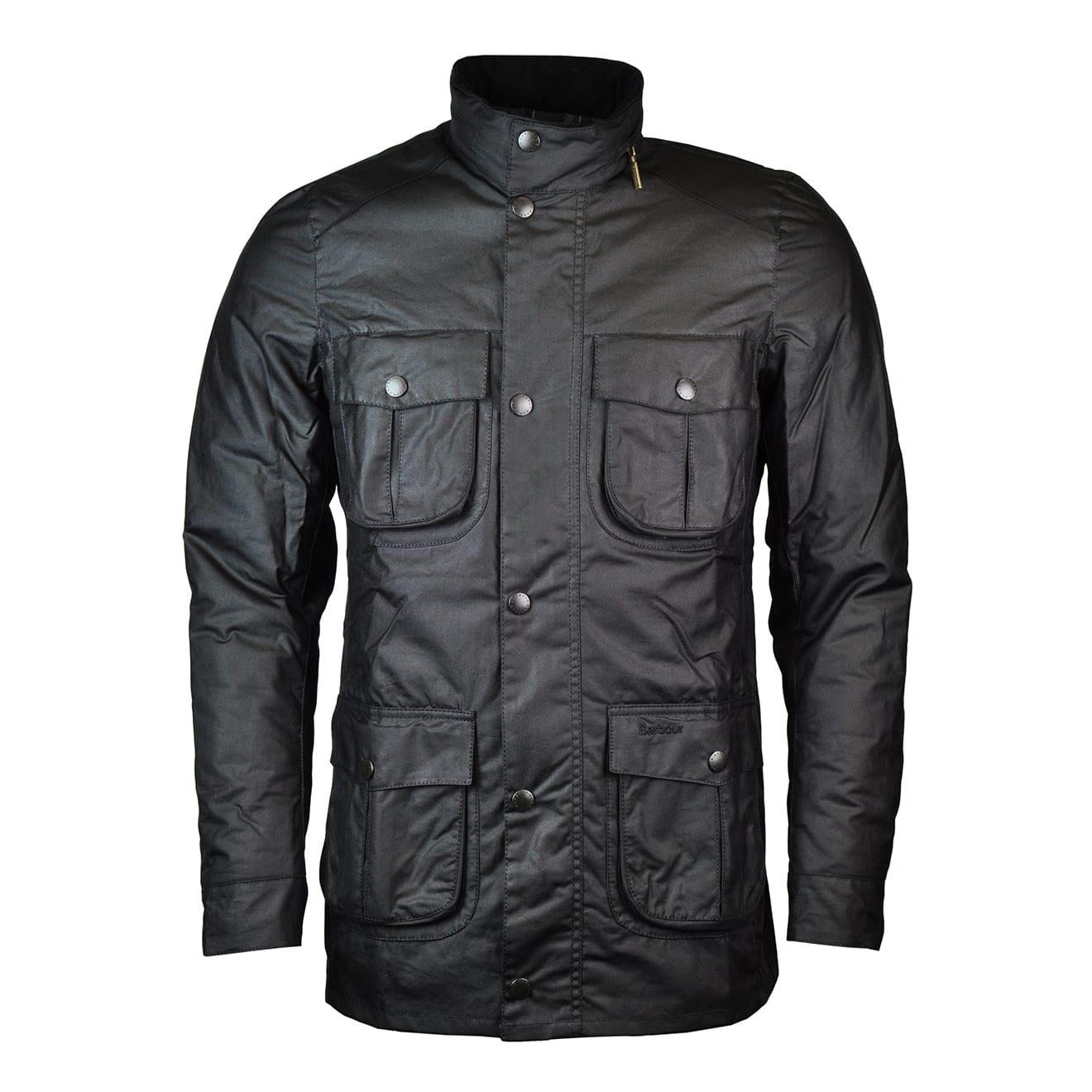 Barbour Corbridge Wax Jacket Black