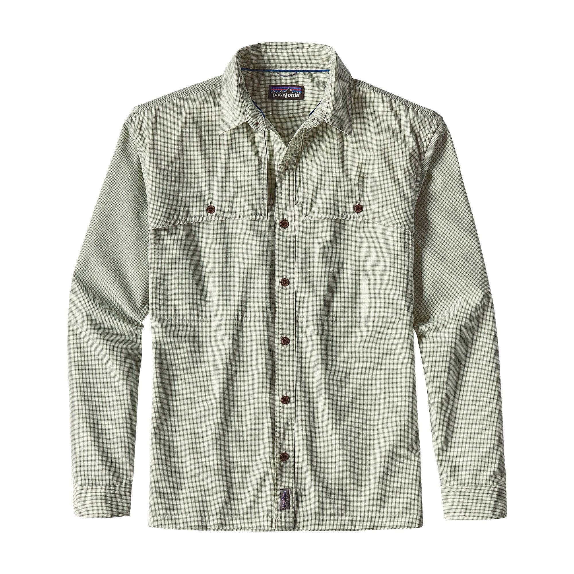 Patagonia Island Hopper II Shirt Gill Green