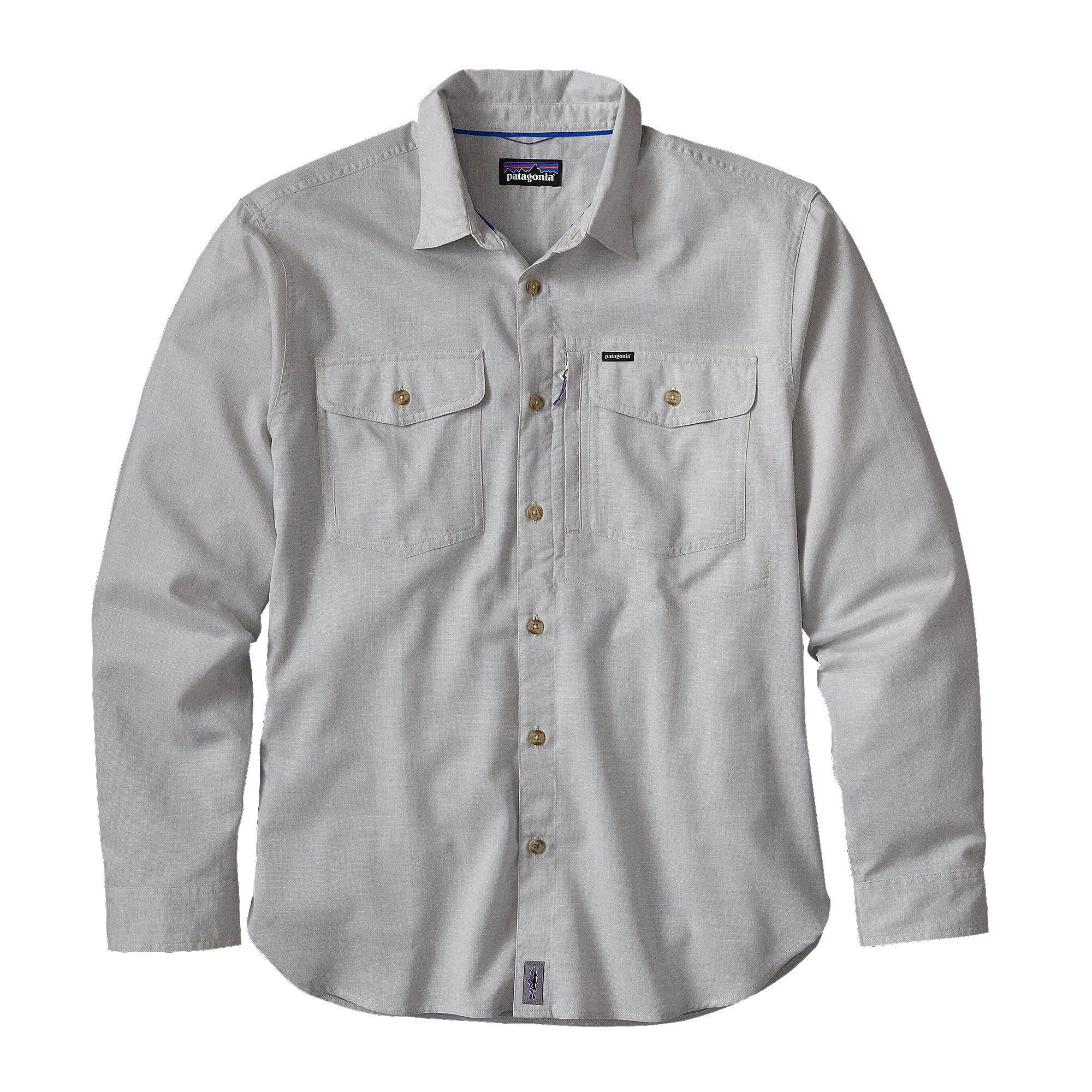 Patagonia Mens Cayo Largo Shirt Drifter Grey