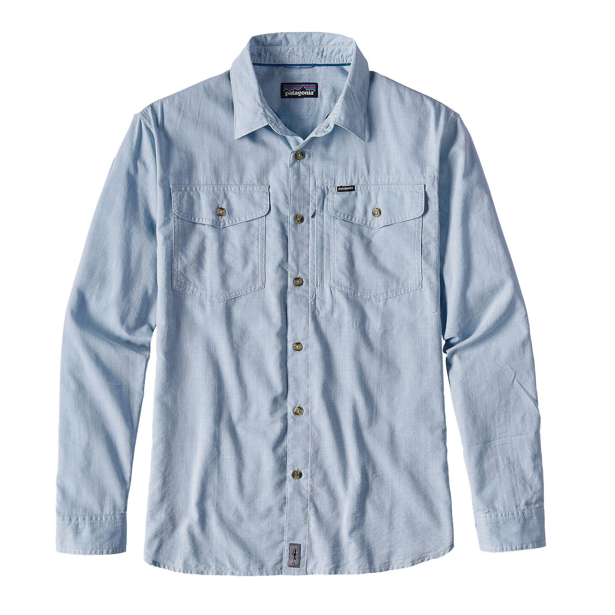 Patagonia mens cayo largo shirt the sporting lodge for Patagonia fishing shirt