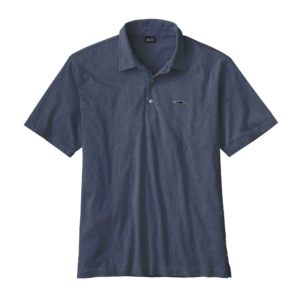 Patagonia Mens Trout Fitz Roy Polo Blue