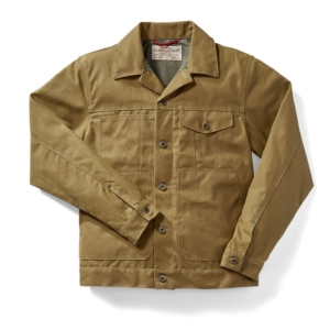 Filson Short Lined Cruiser Jacket Dark Tan