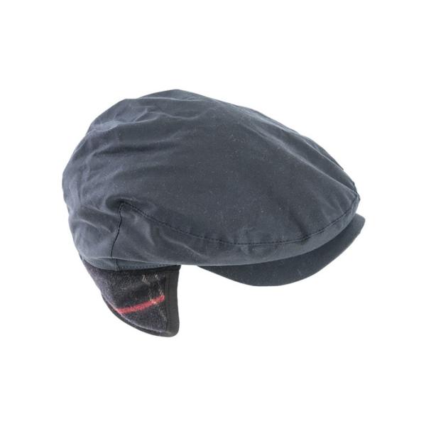 Barbour Cheviot Cap Wax Cotton With Tartan Ear Flaps