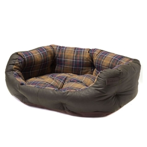 barbour-wax-cotton-dog-bed