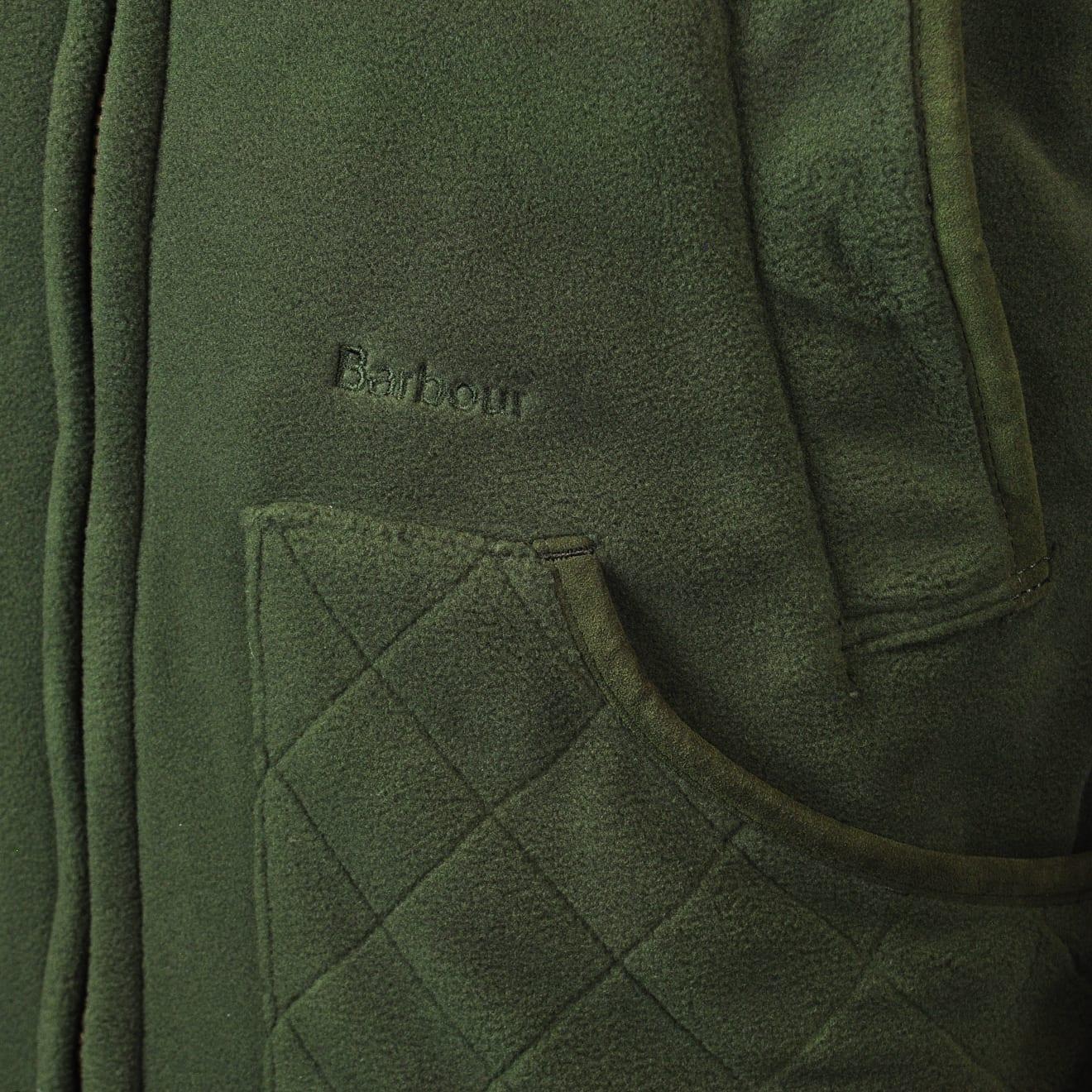 barbour dunmoor fleece jacket