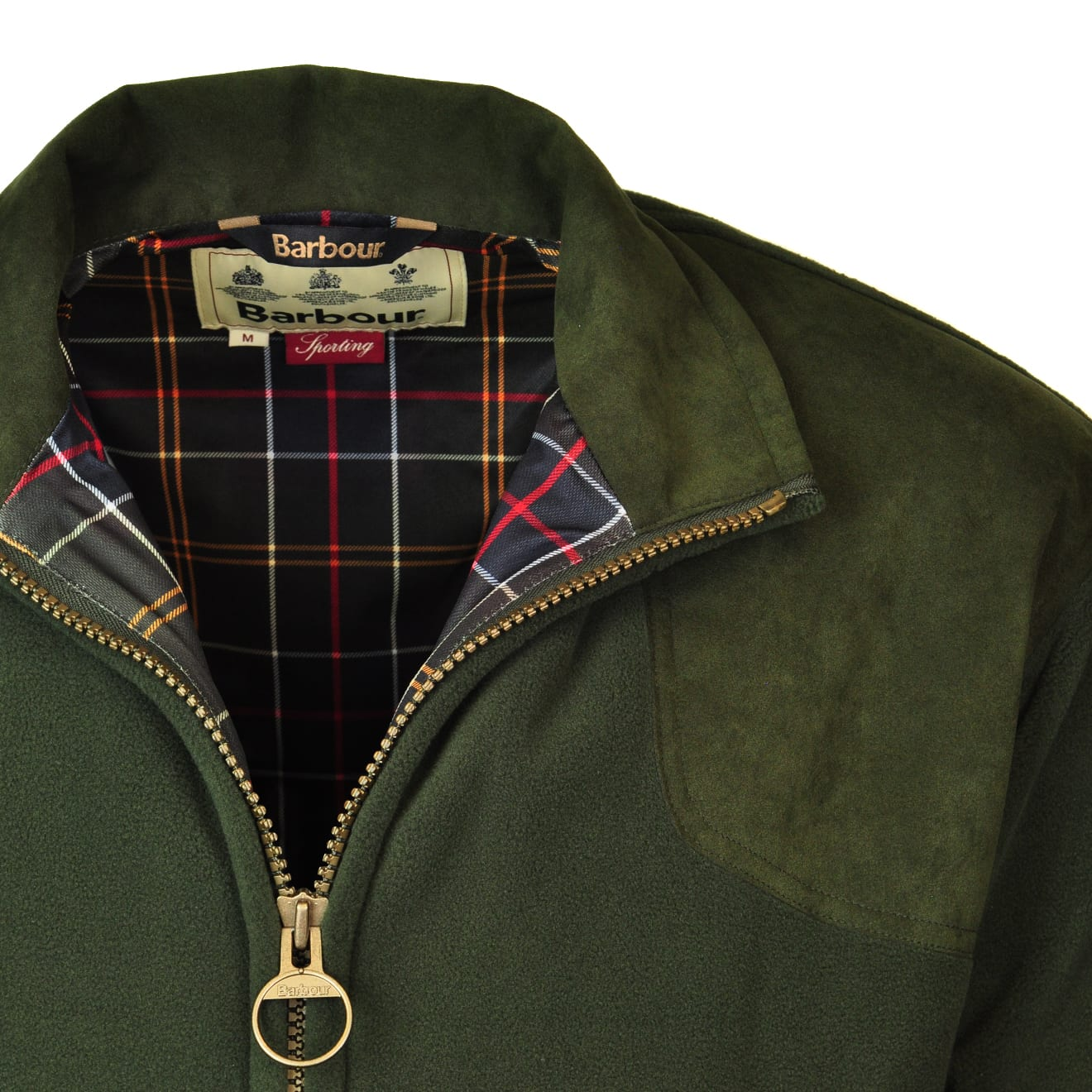 barbour dunmoor fleece