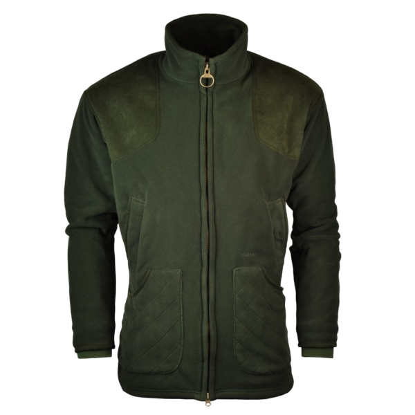 Barbour Dunmoor Fleece Jacket Olive
