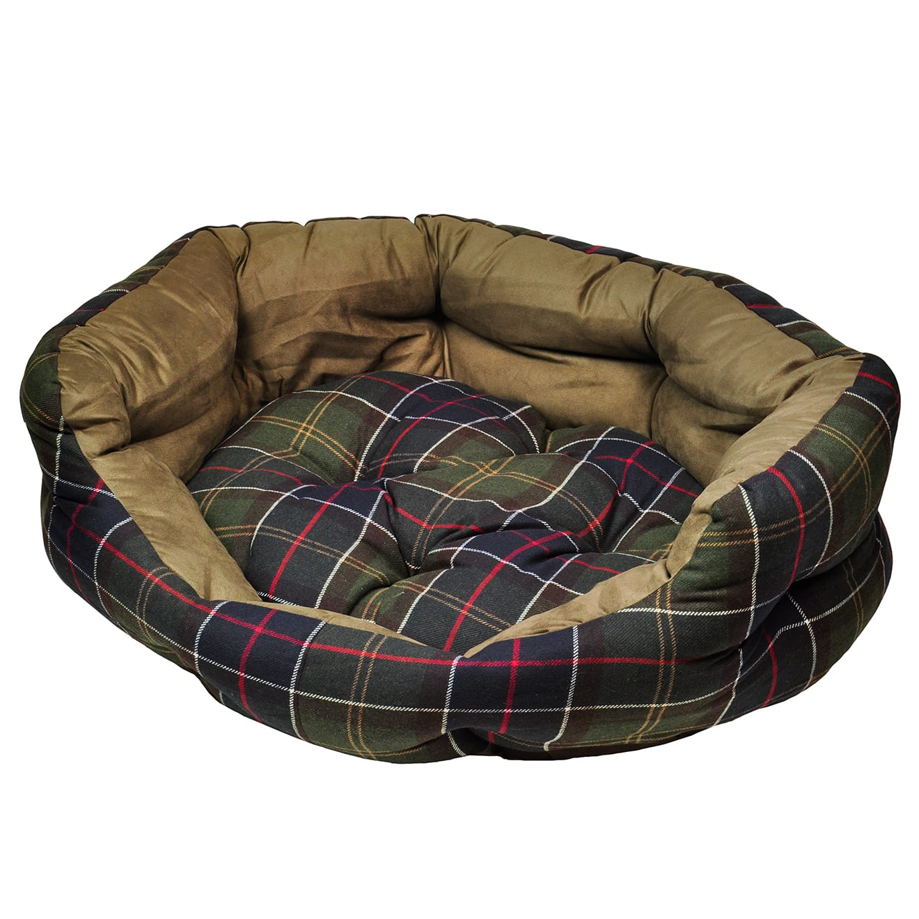 Barbour Luxury Dog Bed 35 Inches