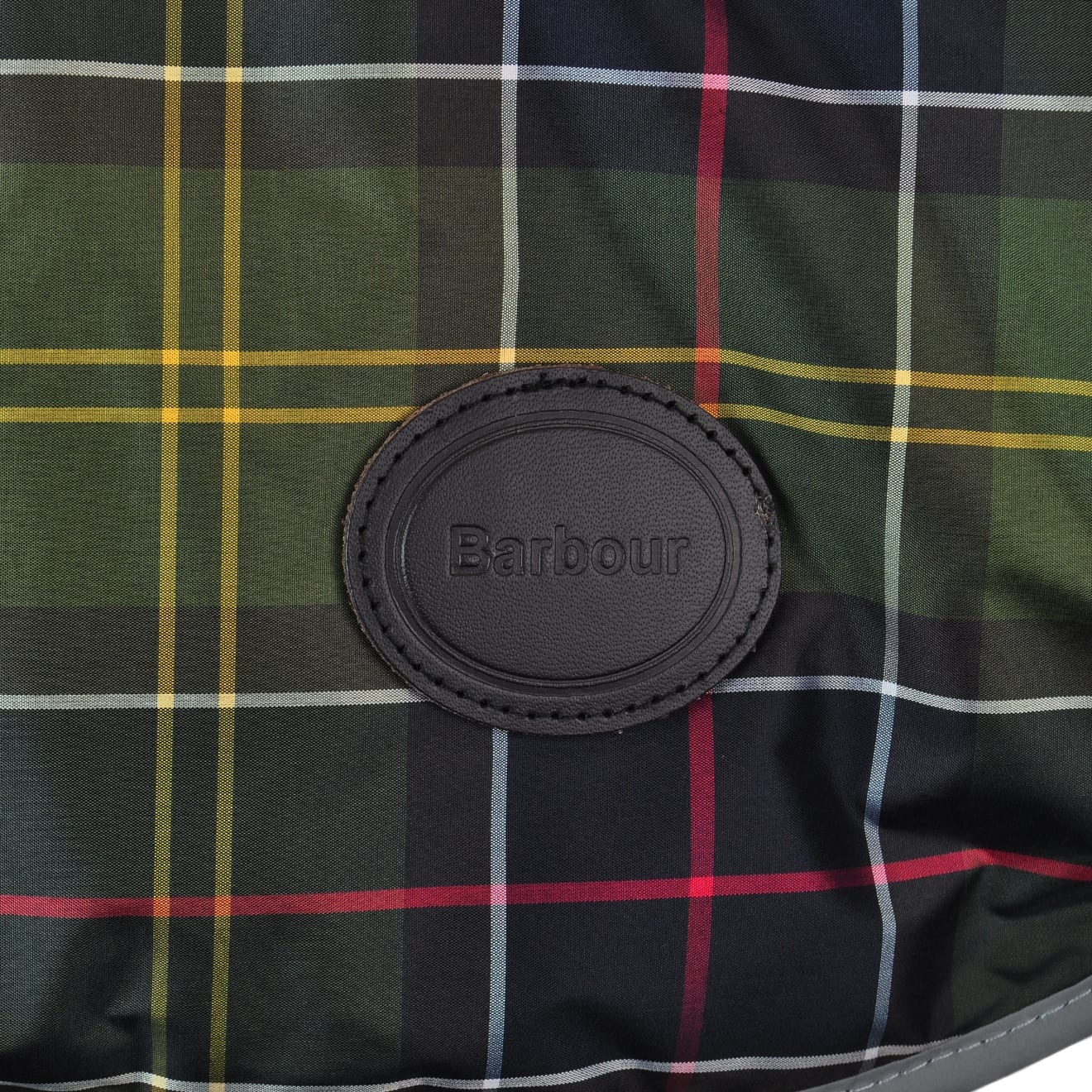 Barbour WB Tartan Dog Coat