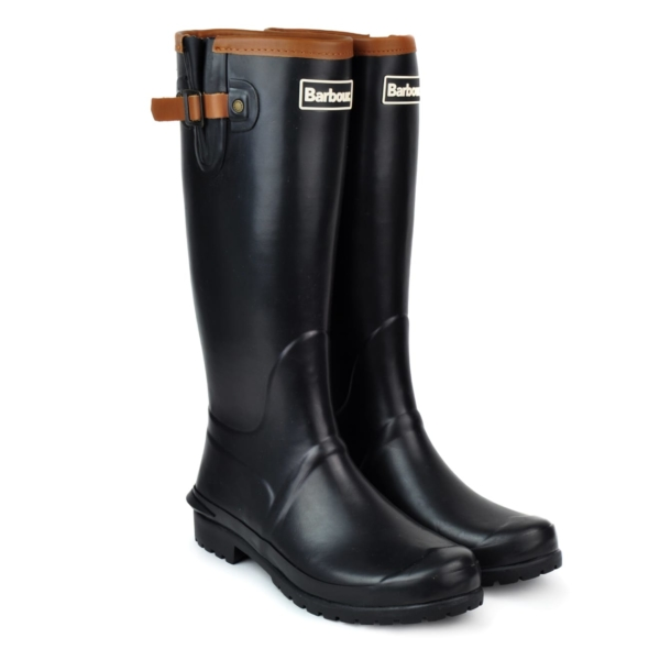 Barbour Womens Blyth Wellington Boot Black