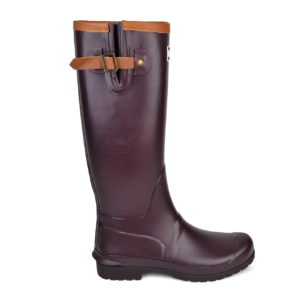 Barbour Womens Blyth wellington boot plum