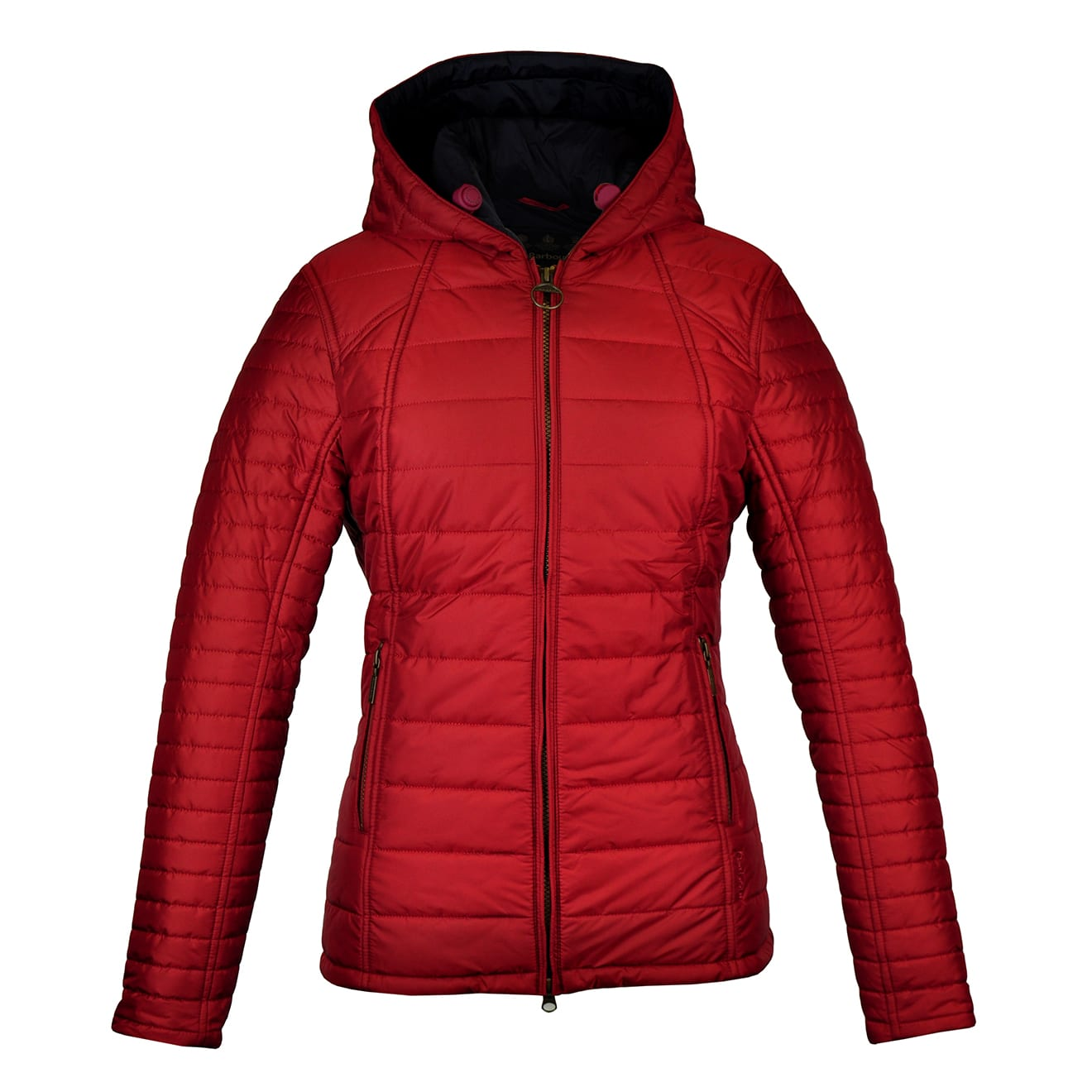 Barbour Womens Cragside Quilt Jacket Red The Sporting Lodge