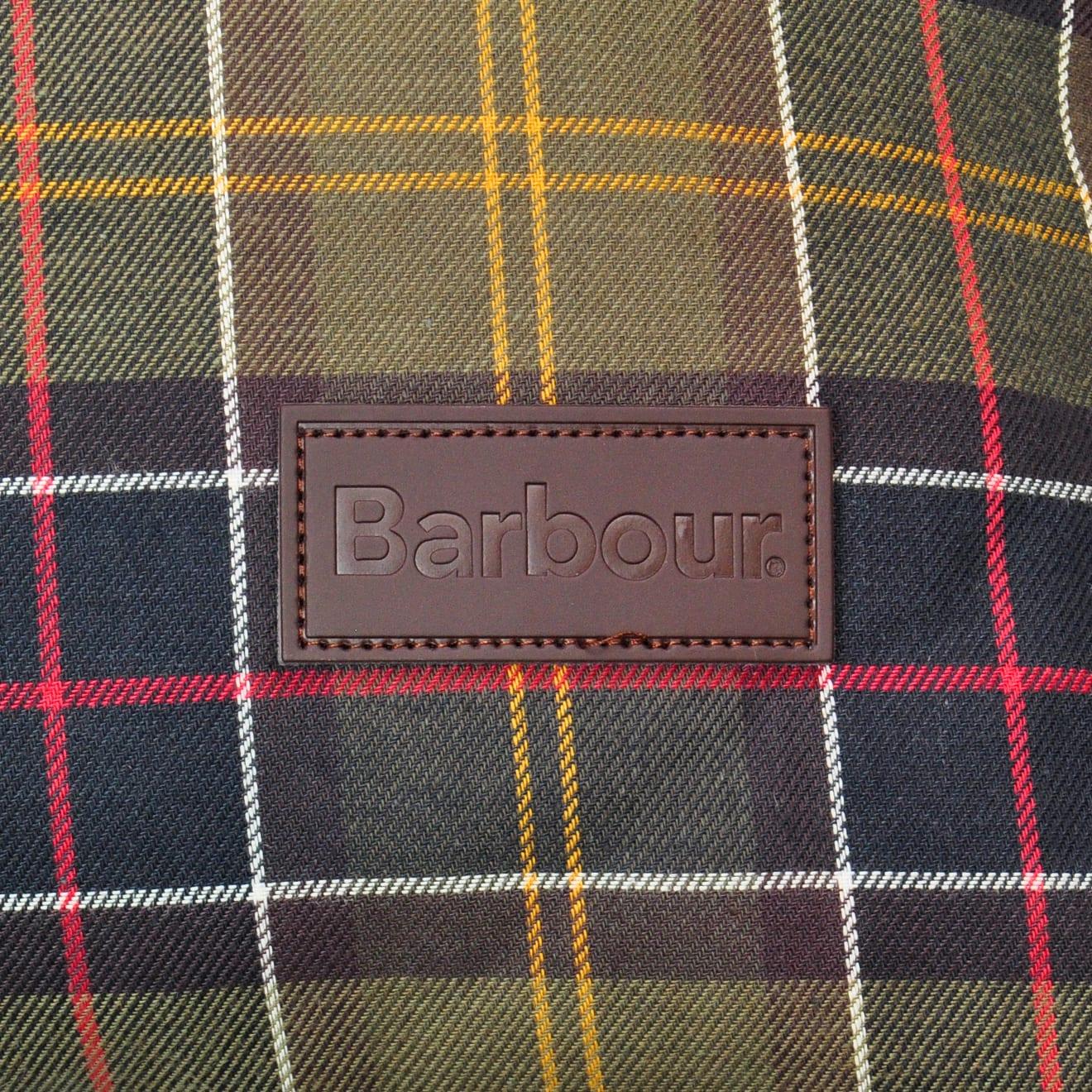 Barbour wax cotton dog bed duvet classic tartan