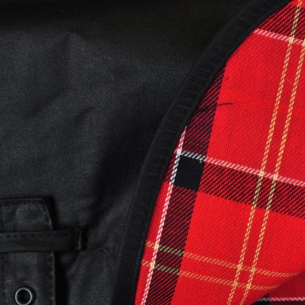 Barbour Wax Dog Coat Black