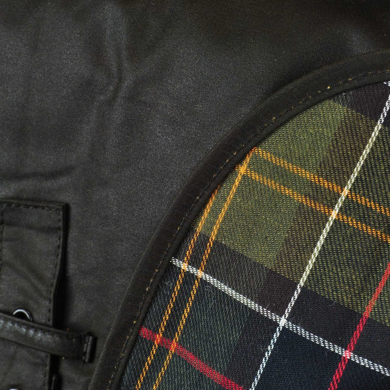 Barbour Wax Dog Coat Olive Green