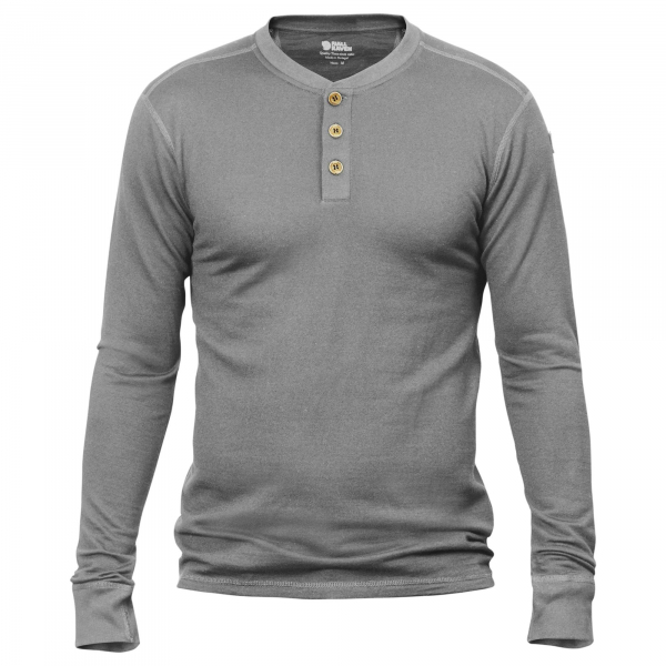 Fjallraven Lappland Merino Henley Knit Grey