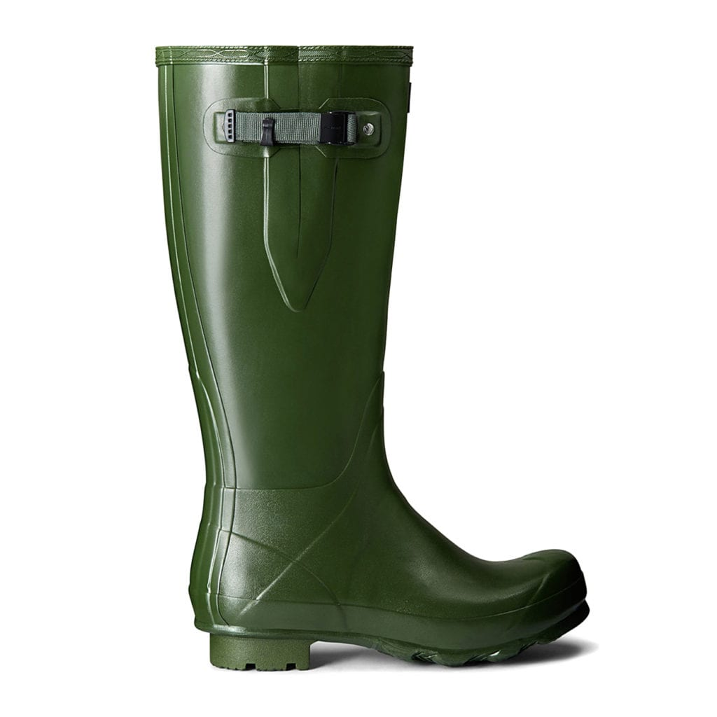 Hunter Norris Field Adjustable Wellington Boot Vintage Green