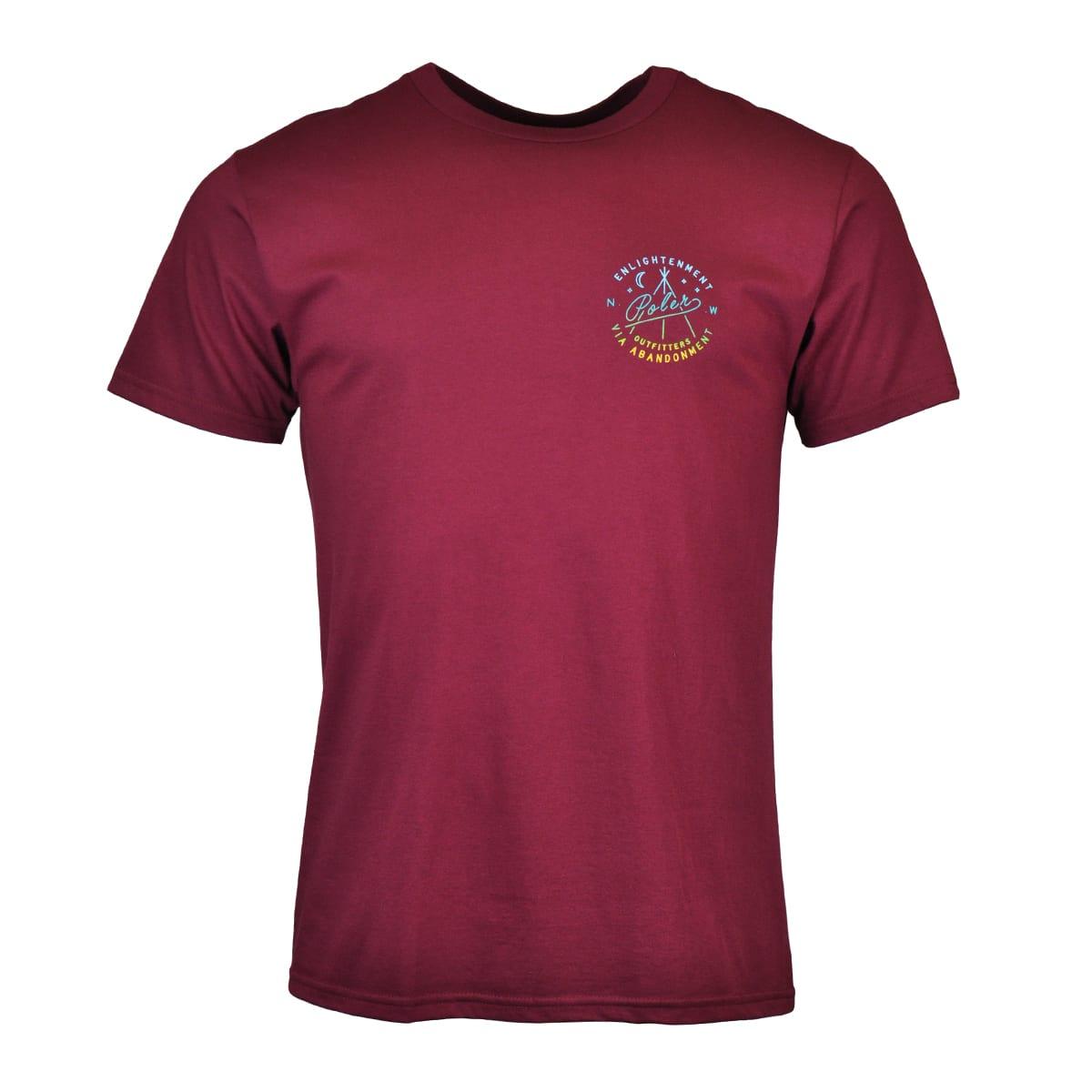 Poler Enlightenment Crew T-Shirt Grape
