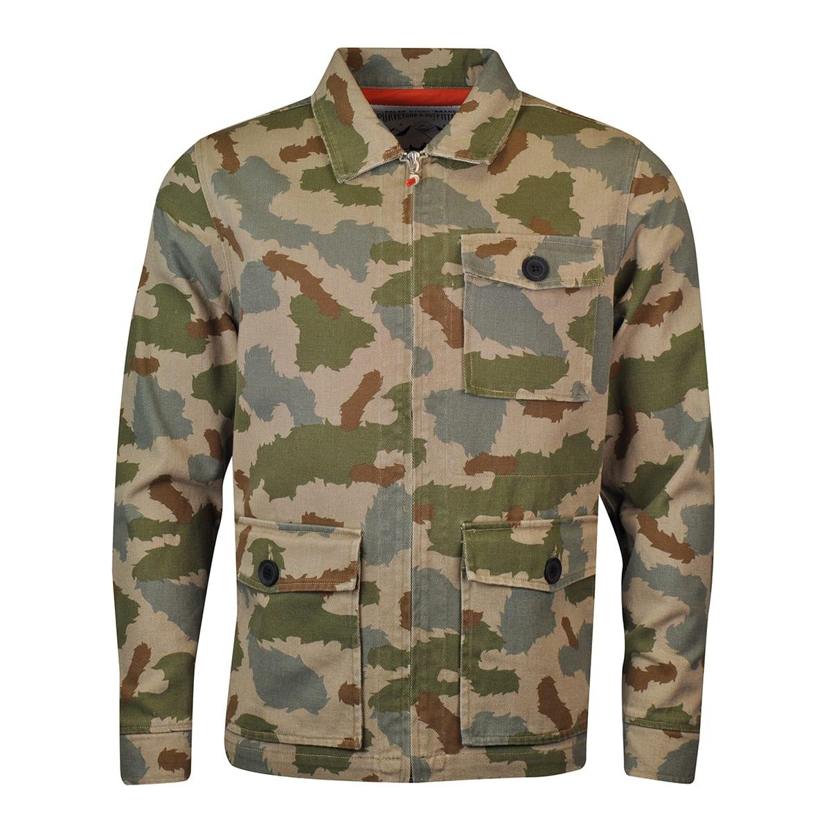 088044de8e9e5 Poler Flap Camo Jacket Camo - The Sporting Lodge