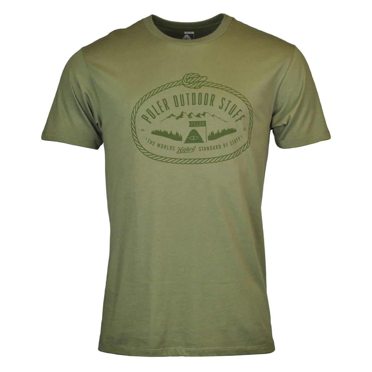 Poler Lasso Print T-Shirt Olive