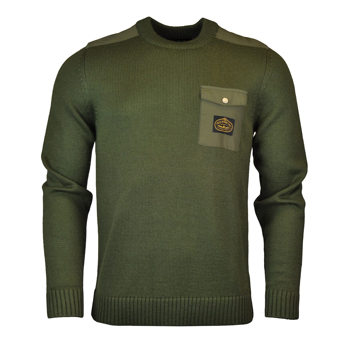Poler Lockhart Crew Knit Olive