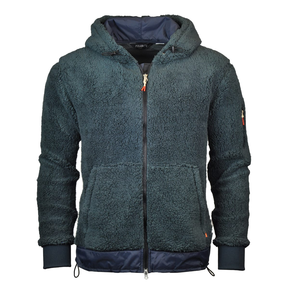 Poler Shaggy Fleece Full Zip Hooded Jacket - The Sporting Lodge