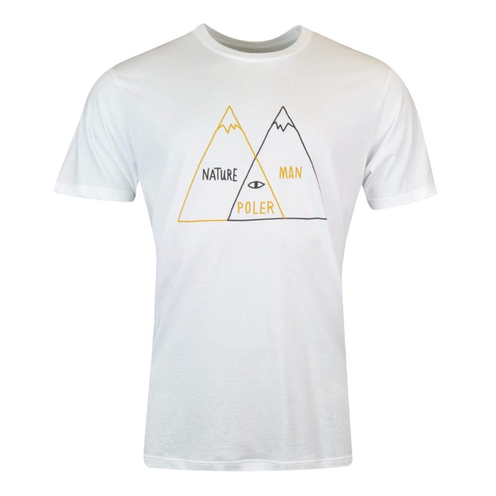 Poler Venn Diagram T-Shirt White
