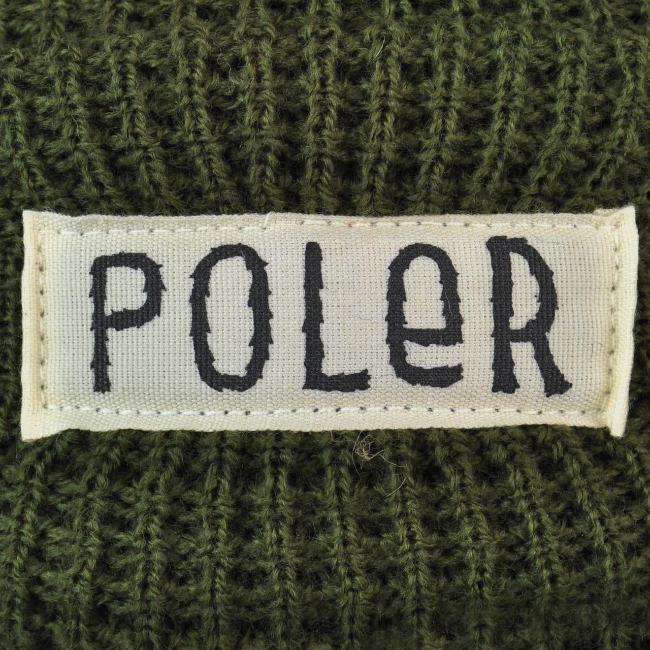 4997de85d37 Poler Workerman Beanie Hat Olive - The Sporting Lodge