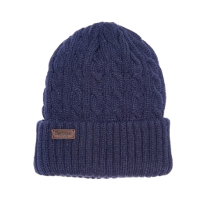 barbour-balfron-beanie-navy