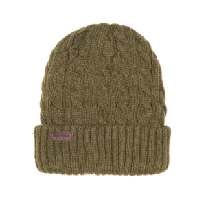 barbour-balfron-beanie-olive