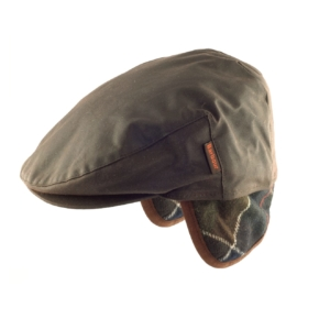 barbour-cheviot-cap-olive