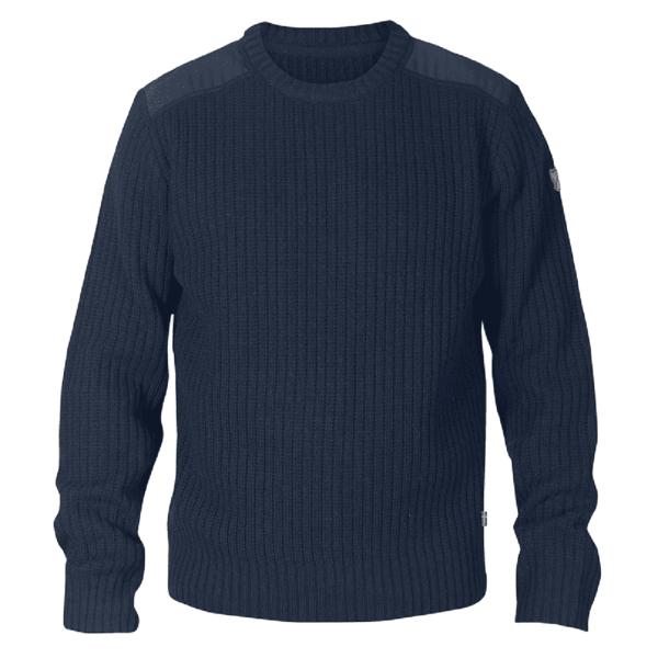 Fjallraven Singi Knit Sweater Dark Navy