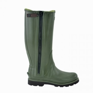 Hunter Commando Full Zip Boot Dark Olive