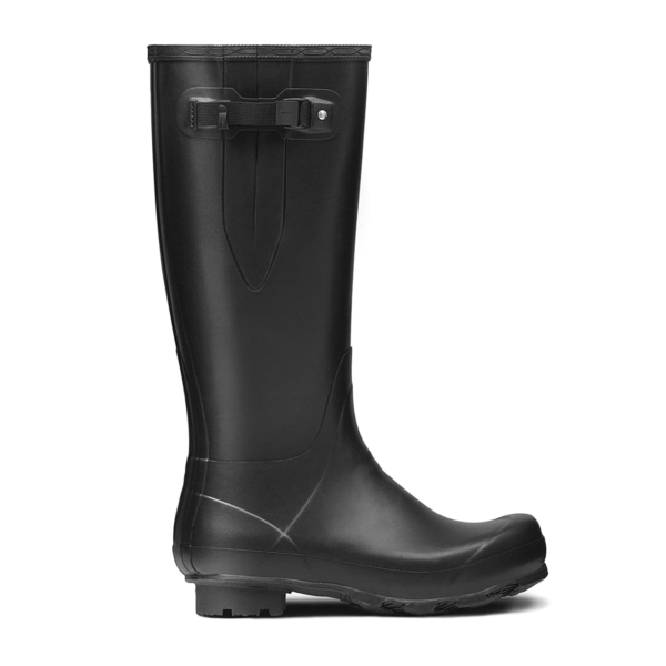 Hunter Norris Field Adjustable Wellington Boot Black
