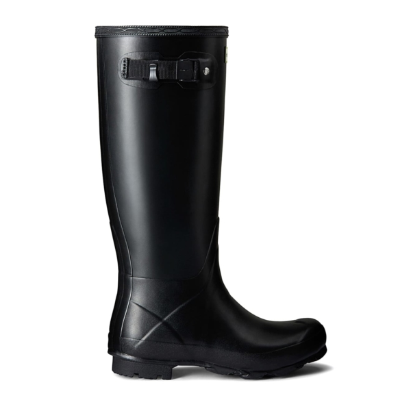 Hunter Womens Norris Field Wellington Boot Black