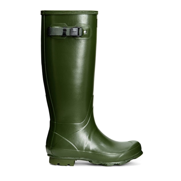 Hunter Womens Norris Field Wellington Boot Green