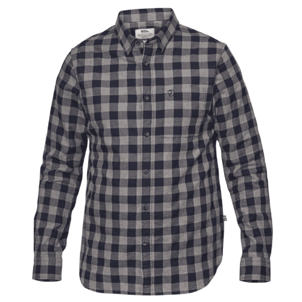 Fjallraven Ovik Check Shirt Night Sky